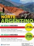 NORTE ARGENTINO, Rusell Travel, rio cuarto