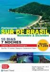 SUR DE BRASIL, Rusell Travel, rio cuarto