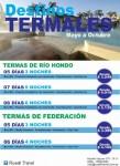 DESTINOS TERMALES, Rusell Travel, rio cuarto