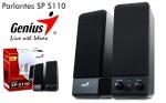 PARLANTE GENIUS SP 110 BLACK 220V, SEUS INFORMATICA, rio cuarto